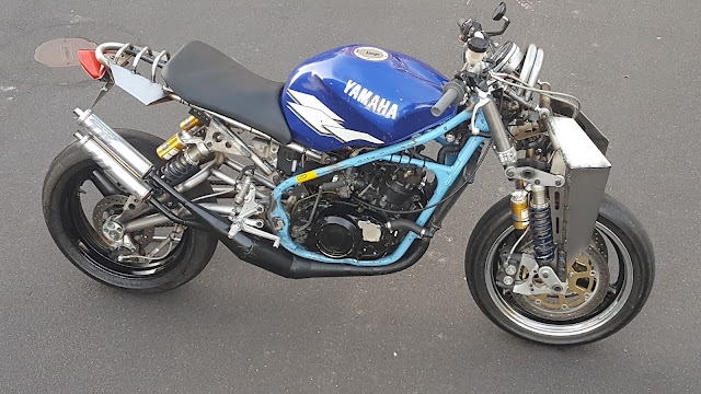 Julian Farnam Dirtbag Rat Yamaha Banshee RZ350