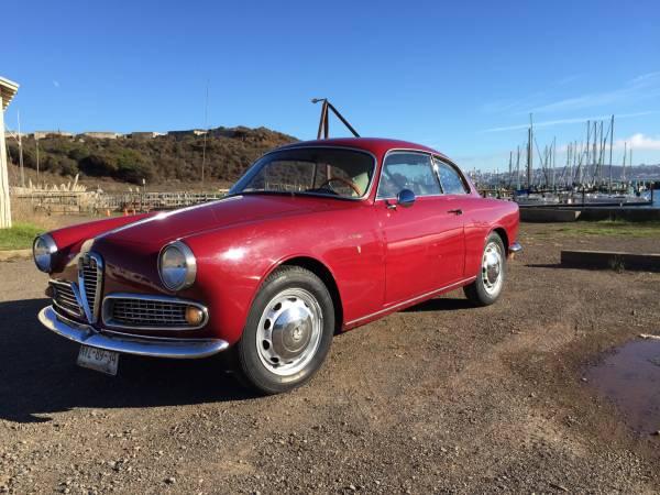 1958 Alfa Romeo Qiulietta Sprint