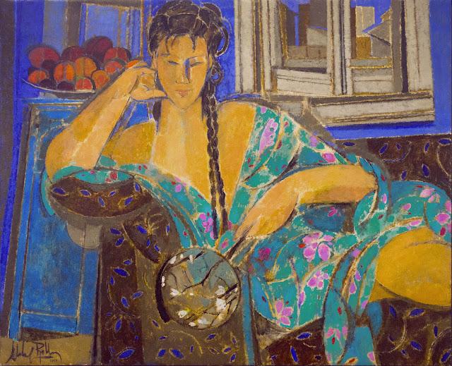Alfredo Roldan - Mujer con kimono