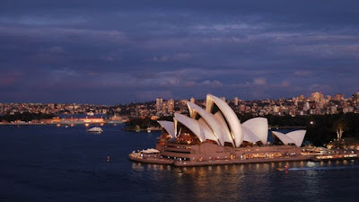Figure: Can you identify the city in which this Opera House is?