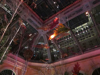 Falling Leaves Inside The Bellagio Conservatory.