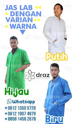 0812 1350 5729 Harga Jual Jas Lab Tangan Panjang Jakarta