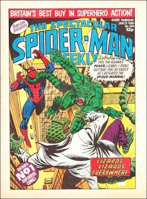 Spectacular Spider-Man #360, the Lizard and Iguana