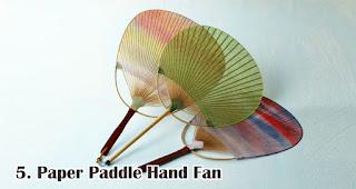 Paper Paddle Hand Fan merupakan salah satu jenis kipas promosi yang cocok untuk dijadikan souvenir