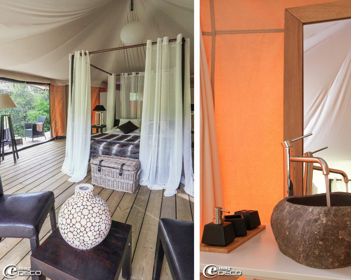 great au lodge du pont duarc lit baldaquin maisons du monde et rideaux with maison du monde lit. Black Bedroom Furniture Sets. Home Design Ideas