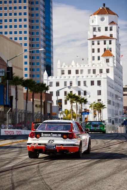World Challenge Nissan Skyline GT-R R34 at Long Beach