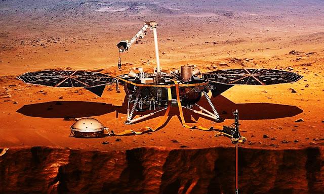La sonda InSight despierta en Marte