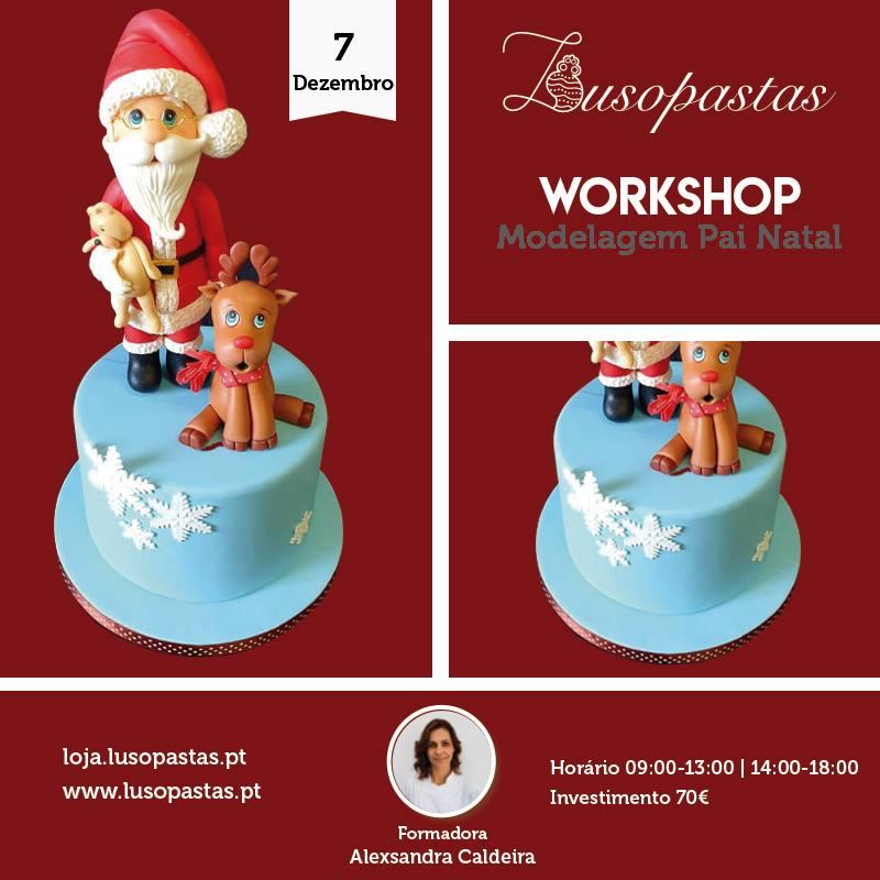 Lisboa – Workshop de modelagem de Pai Natal