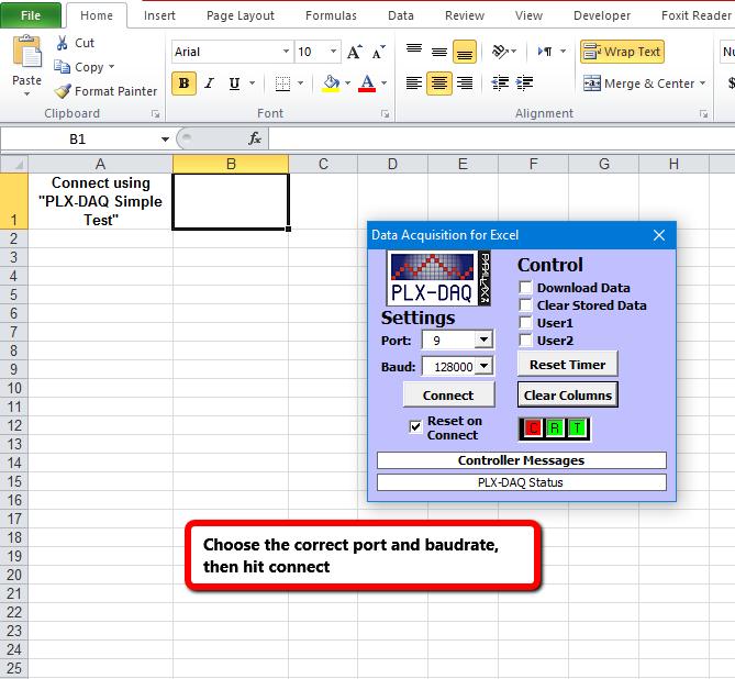 Dunia Listrik - Data Logger Mudah dengan Excel-PLX dan