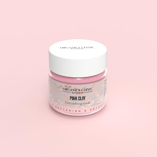 organic pink clay mask
