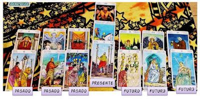 Tirada de las 7 cartas- Tarot Universal