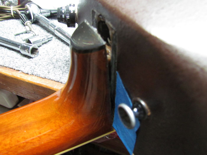removing ovation guitar neck for reset crawls backward when alarmed. Black Bedroom Furniture Sets. Home Design Ideas