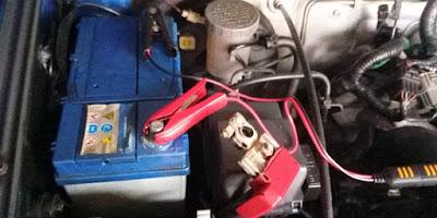 Suzuki Jimny Boch Battery Charging