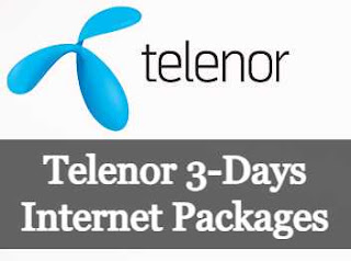 Telenor 3-Days Internet Packages