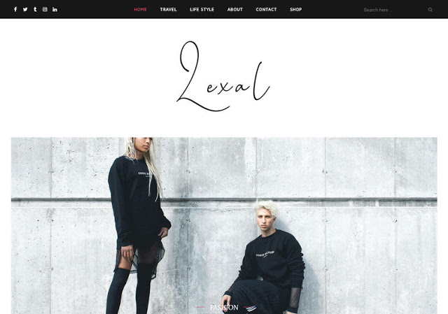 Lexel blogger template lexel theme