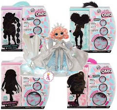 Куклы L.O.L. Surprise O.M.G. Wave 2 Winter Disco с коллекционной модницей Crystal Star