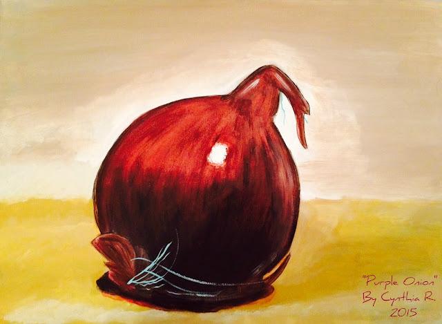 purple onion, cebolla morada