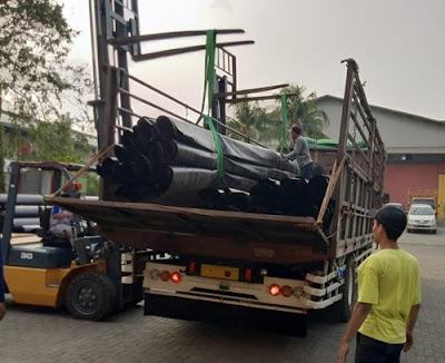 Sewa truk fuso Semarang Medan