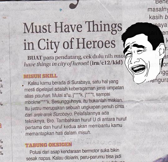 Yang harus dipelajari di Surabaya