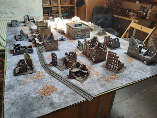 The table for Stalingrad using Chain of Command