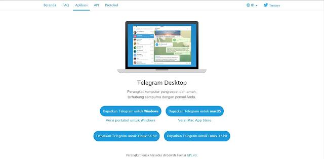 Cara Penggunaan Sosial Media Telegram - Unduh Aplikasi