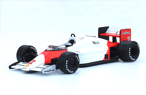 McLaren MP4/2B 1985 Alain Prost f1 the car collection
