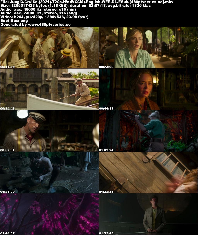 Download Jungle Cruise (2021) 1.2GB Full Hindi Dual Audio Movie Download 720p Web-DL Free Watch Online Full Movie Download Worldfree4u 9xmovies