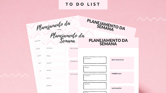 Planner Escolar 2019