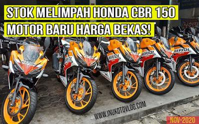 Honda cbr 150R Bekas di Bedagan Motor Semarang