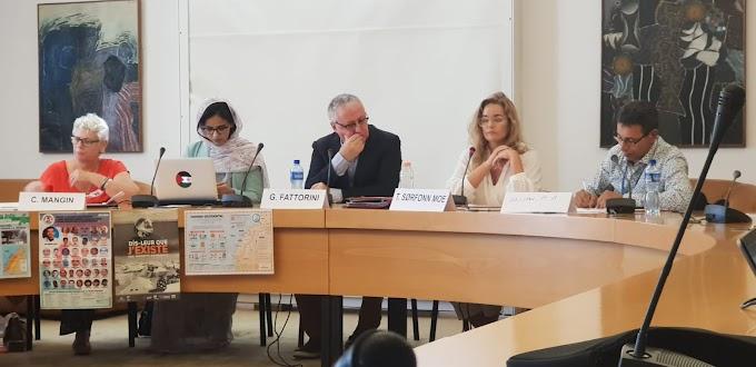 مجلس حقوق الإنسان : نشطاء حقوقيون صحراويون وأجانب يسلطون الضوء على حجم جرائم الحرب المرتكبة في الصحراء الغربية المحتلة.