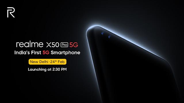 Realme ला रहा इंडिया का पहला 5G फोन X50 Pro