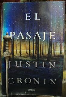 Portada del libro El pasaje, de Justin Cronin