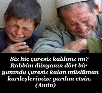 Siz hiç çaresiz kaldınız mı? Rabbim dünyanın dört bir yanında çaresiz kalan müslüman kardeşlerimize yardım etsin. (Amin), dua, günün duası, çaresizlik, uygur türkleri, zulüm, zulm, mazlum, gariban, yoksul, fakir, baba oğul,