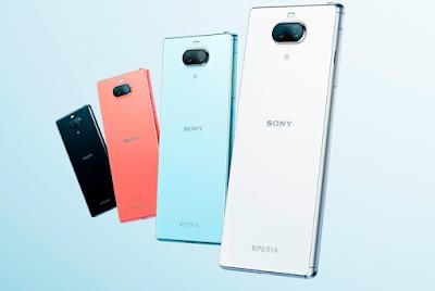 شركة سوني تعلن عن الهاتف Xperia 8 مع كاميرات مزدوجة ومع المعالج سناب دراغون 630 بسعر 505 دولار أمريكي وبأربعة ألوان.