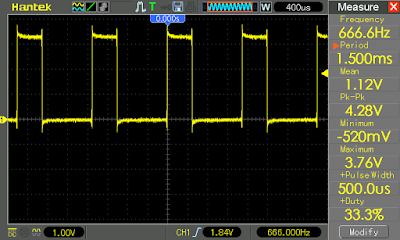 Wave output with jump instruction