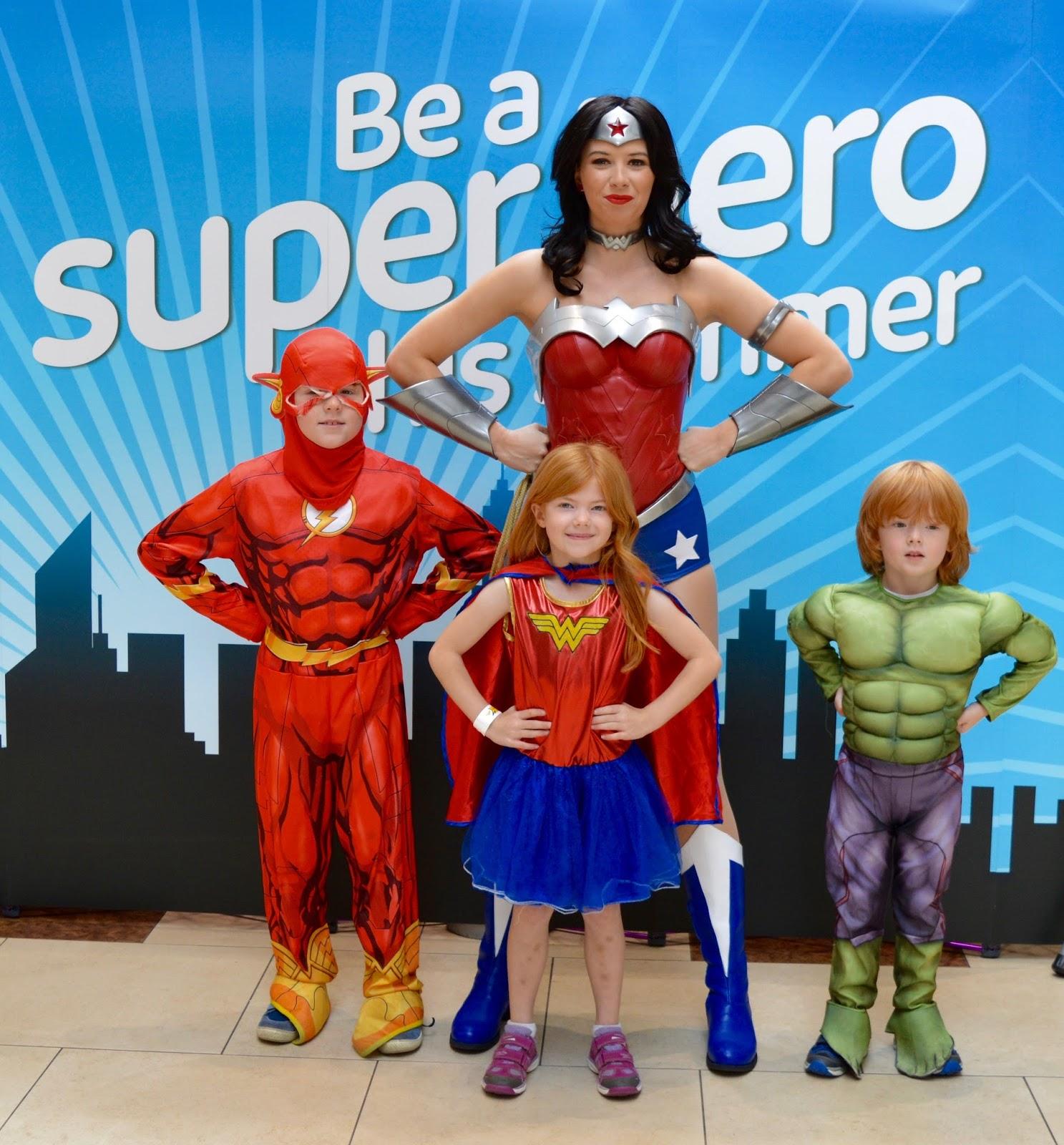 We Met Wonderwoman At Intu Eldon Square