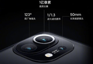 Xiaomi Mi 11 lens Snapdragon 888