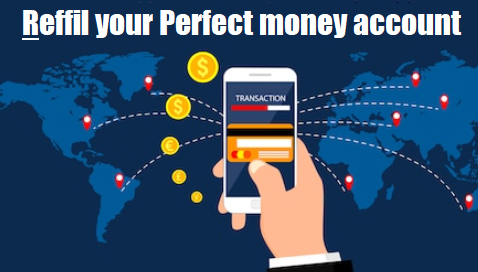 How to refill or Top up perfect money account