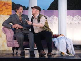 Stephen Storace Gli sposi malconteni (Bride & Gloom) - Robert Davies, Gavan Ring (At Bampton in July 2019) - Bampton Classical Opera (Photo Anthony Hall)