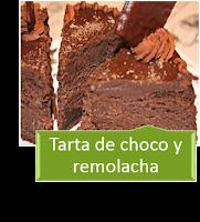 TARTA DE CHOCOLATE Y REMOLACHA