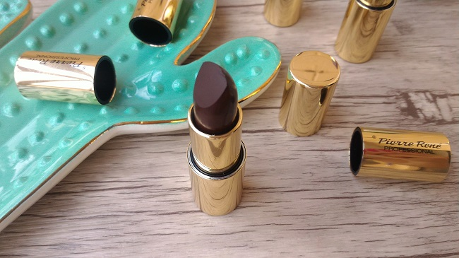Labiales Full Matte Lipstick de Pierre René - 27 Deep Burgund