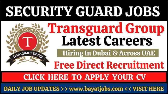 Transguard Security Jobs for Latest Careers Openings 2020