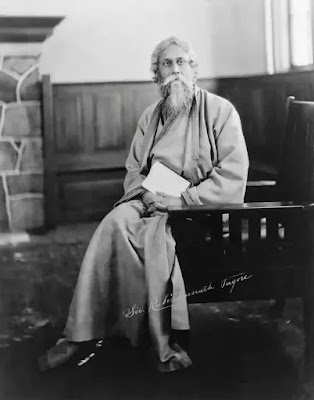 Rabindranath Tagore sketch portrait photography