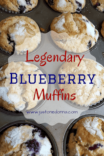 Legendary Blueberry Muffins