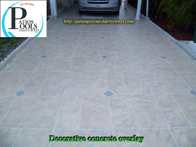 #decorativeconcrete #decorativeoverlay #driveway #concrete