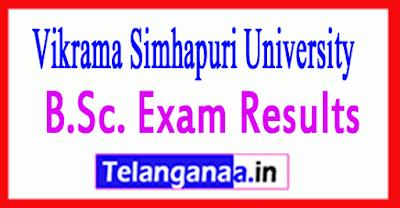 Vikrama Simhapuri University B.Sc. Exam Results
