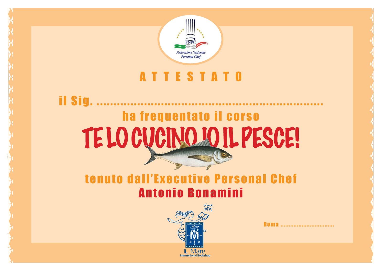 Disegno corsi di cucina a roma : Libreria Internazionale Il Mare: Tutti promossi al corso di cucina