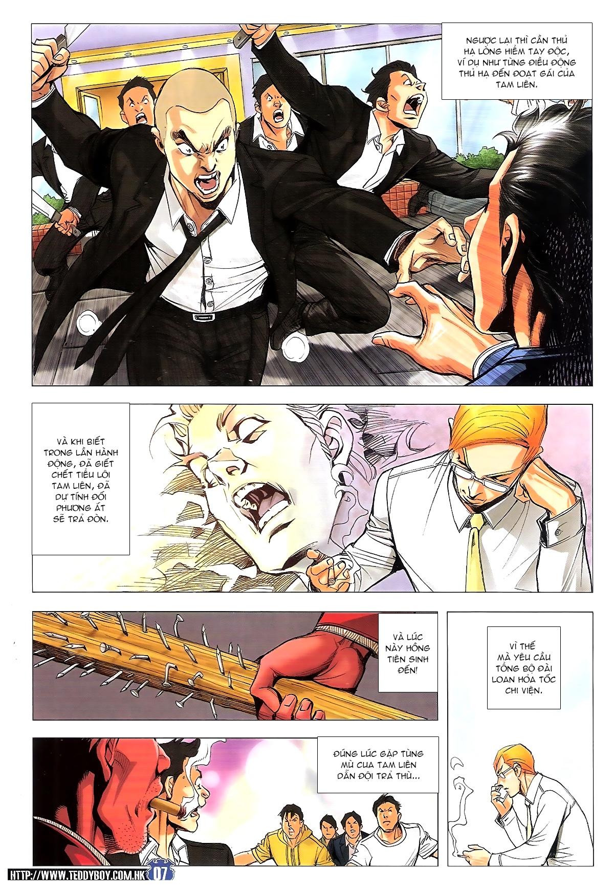 Người Trong Giang Hồ chapter 1807: hồng tiên sinh trang 6