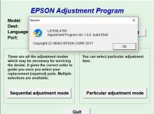 Reseter Epson L4150 L4160