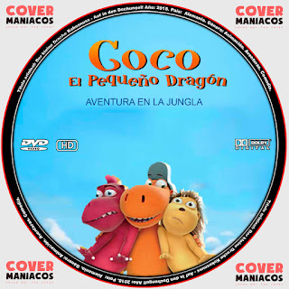 COCO EL PEQUEÑO DRAGON: AVENTURA EN LA JUNGLA - COCONUT THE LITTLE DRAGON 2: INTO THE JUNGLE 2018 [COVER - DVD]